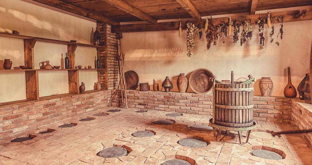 Georgia is the cradle of wine